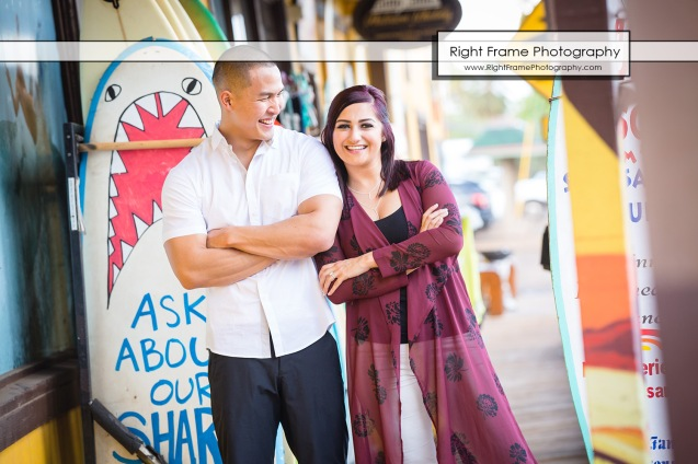 Engagement Photos in Haleiwa North Shore Oahu