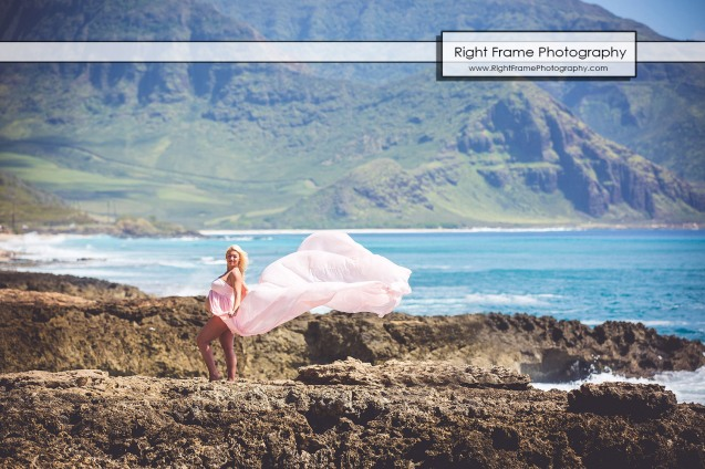 Affordable Maternity Photography Oahu Hawaii Yokohama Beach