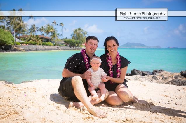 Lanikai Beach Family Photography Oahu Hawaii