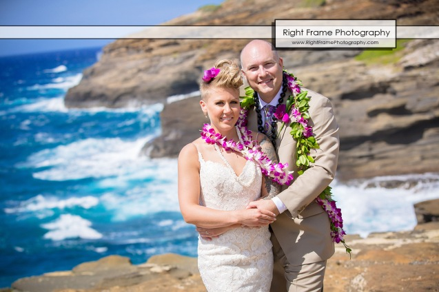 HEAVEN's POINT Lanai Lookout Wedding Hawaii Oahu