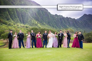 Wedding at KO'OLAU BALLROOMS Oahu Hawaii