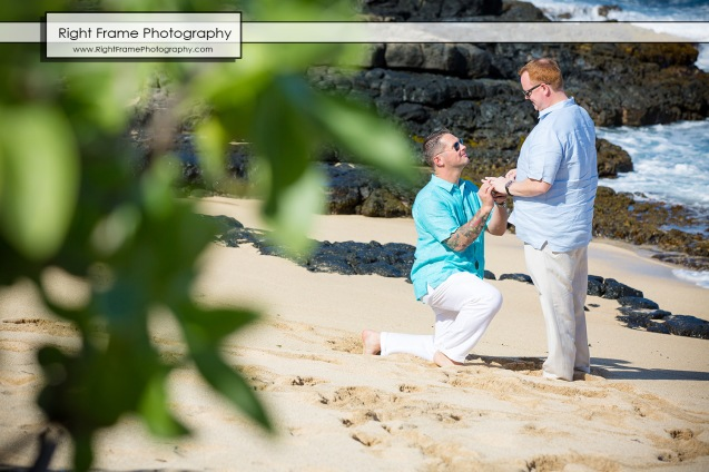 He Asked He Said Yes Proposing in Hawaii