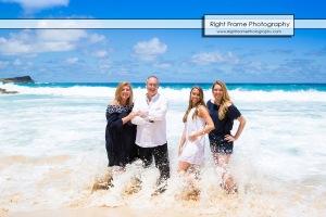 Family Beach Pictures Waikiki Photographer