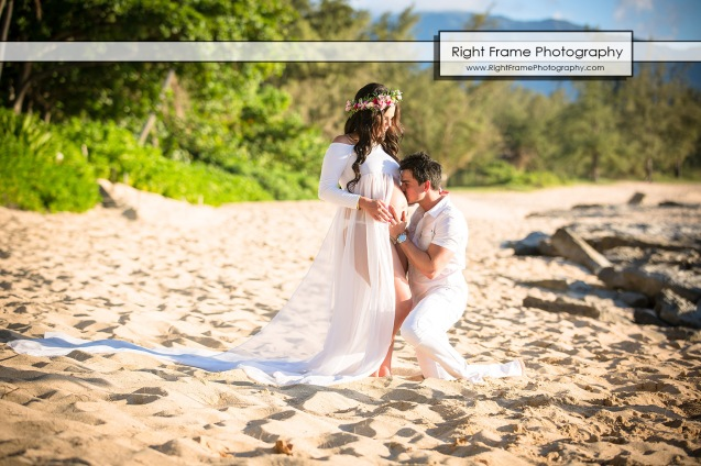 Oahu Maternity Photos Hawaii Photographers