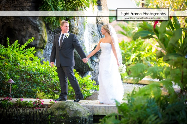 Hawaii Wedding in Akala Chapel Hilton Hawaiian Village