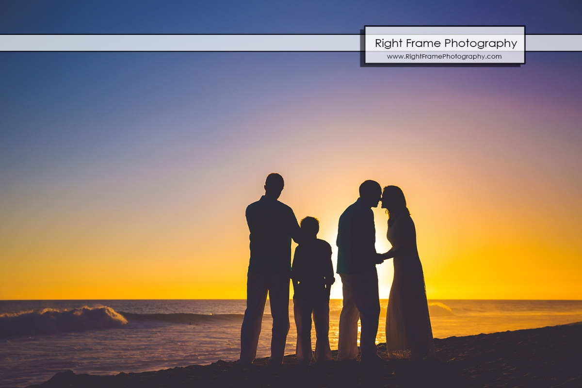 Beach Wedding Ceremony Oahu: Affordable Sunset Family Pictures Near Marriott's Ko Olina