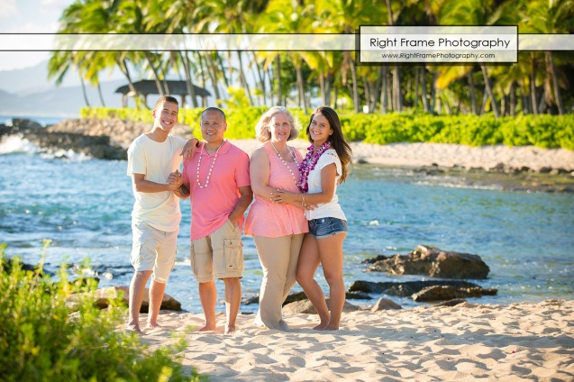 FAMILY BEACH PORTRAITS Ko Olina Photographer