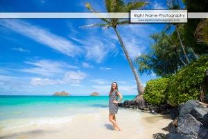 Hawaii Senior Pictures - LANIKAI BEACH