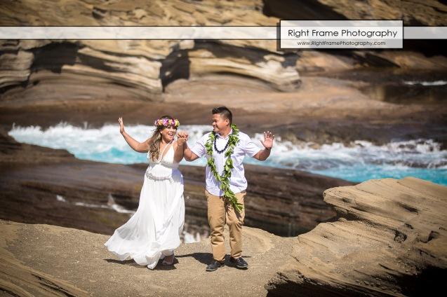 Hawaii Vow Renewal Ceremony Photography Waimanalo Beach Oahu
