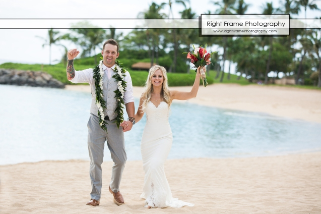Wedding Photography PARADISE COVE LUAU Ko Olina Oahu Hawaii