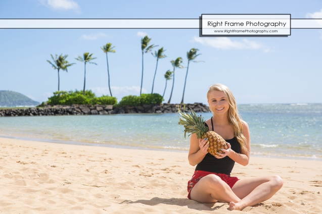 SENIOR PORTRAIT PHOTOGRAPHY Kahala Beach