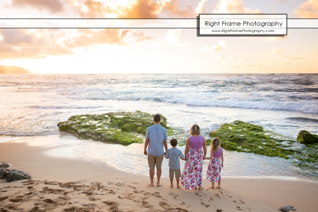 Oahu Sunset Beach Photography