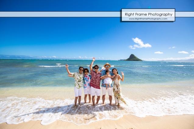 Vacation Photographer in Oahu Kualoa Regional Park