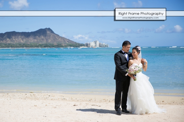 Waikiki Beach wedding