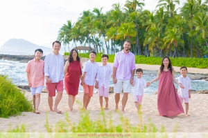 Beach Family Portraits in Hawaii