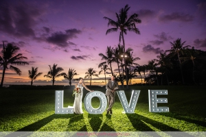 destination wedding oahu paradise cove luau