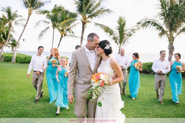 Destination Wedding Oahu PARADISE COVE LUAU