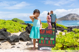 Oahu Maternity Beach Photography