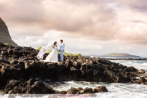 Hawaii Beach Wedding Photos Makapu'u Beach