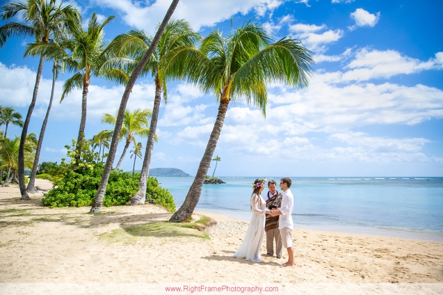 Elopement Photographer Honolulu Hawaii